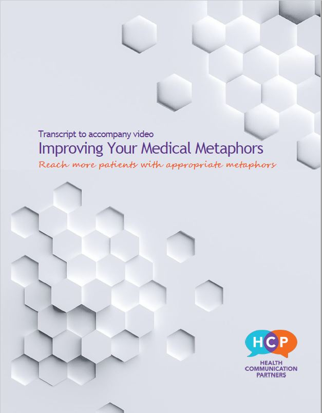 Improving Your Medical Metaphors