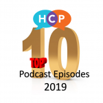 10 Most Popular Podcast eps on Health Communication Partners, 2019