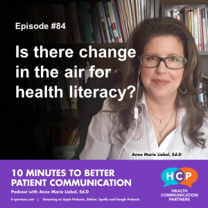 Is there change in the air for health literacy?