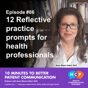 12 Reflective practice prompts for health professionals Rebroadcast