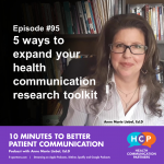 Episode #94 5 ways to expand your health communication research toolkit