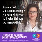 Episode 107 Collaborating? Here's 4 hints to help things go smoothly
