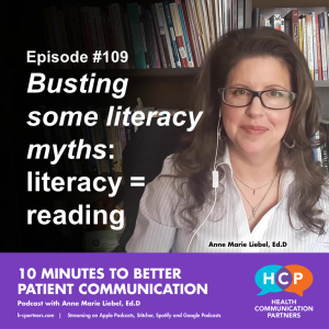 Busting some literacy myths: literacy = reading